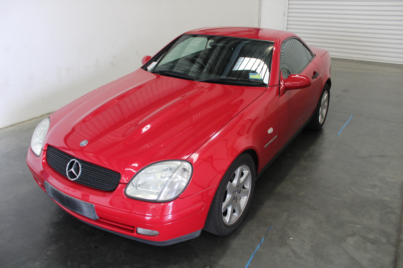 1998 Mercedes Benz SLK230 Kompressor R170 Auto Convertible 94,379km