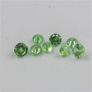 0.50ct Apple Green Tsavorite Garnet Set