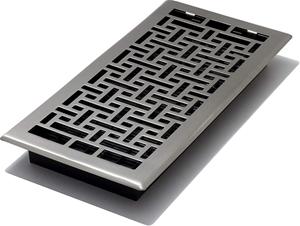 2 xDECOR GRATES Oriental Floor Register,