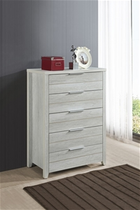 Tallboy with 5 Storage Drawers Natural W