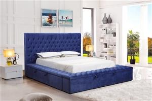 Queen Size Storage Bed Frame Elegant Lux