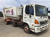 2014 Hino FC500 4 x 2 Garbage Truck (Pooraka, SA)