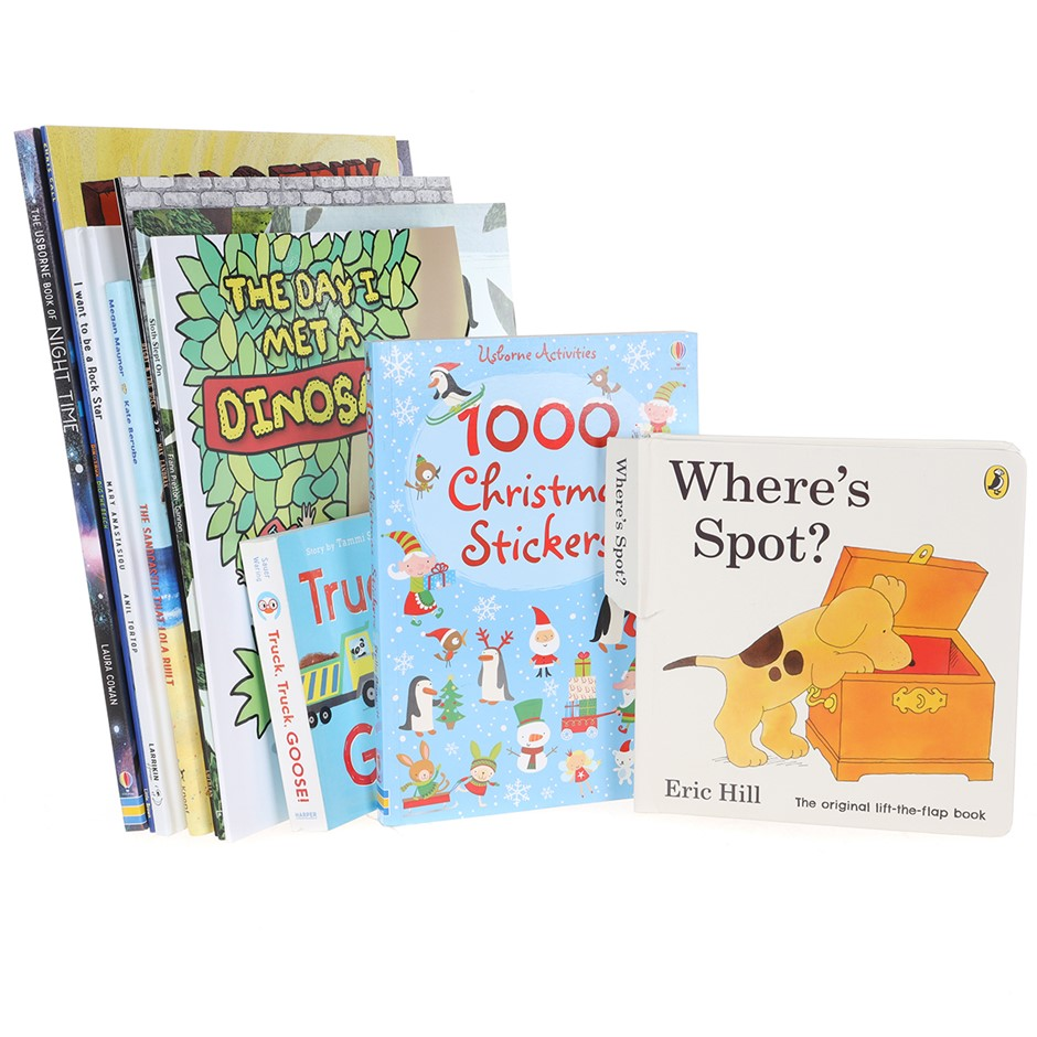 8 x Assorted Children`s Books, Comprising: WHERE`S SPOT, SLOTH SLEPT ON & m