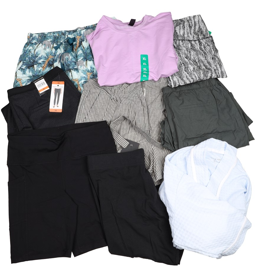 9 x Mixed Women`s Clothing, Size XL, Comprising; MARC NEW YORK, ADIDAS & Mo