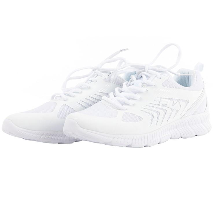 FILA Men`s Ardea Running Shoes, Size UK 11, White. (SN:CC71526) (279323-475