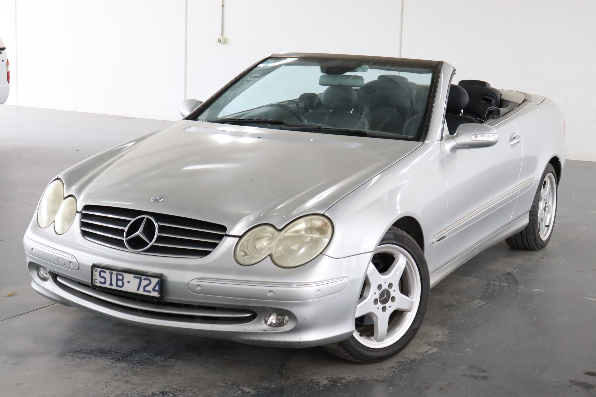 2003 Mercedes Benz CLK 320 Avantgarde A209 Automatic Convertible