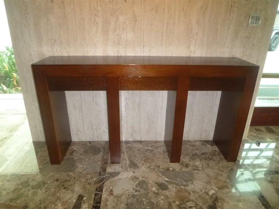 Timber Hall Stand