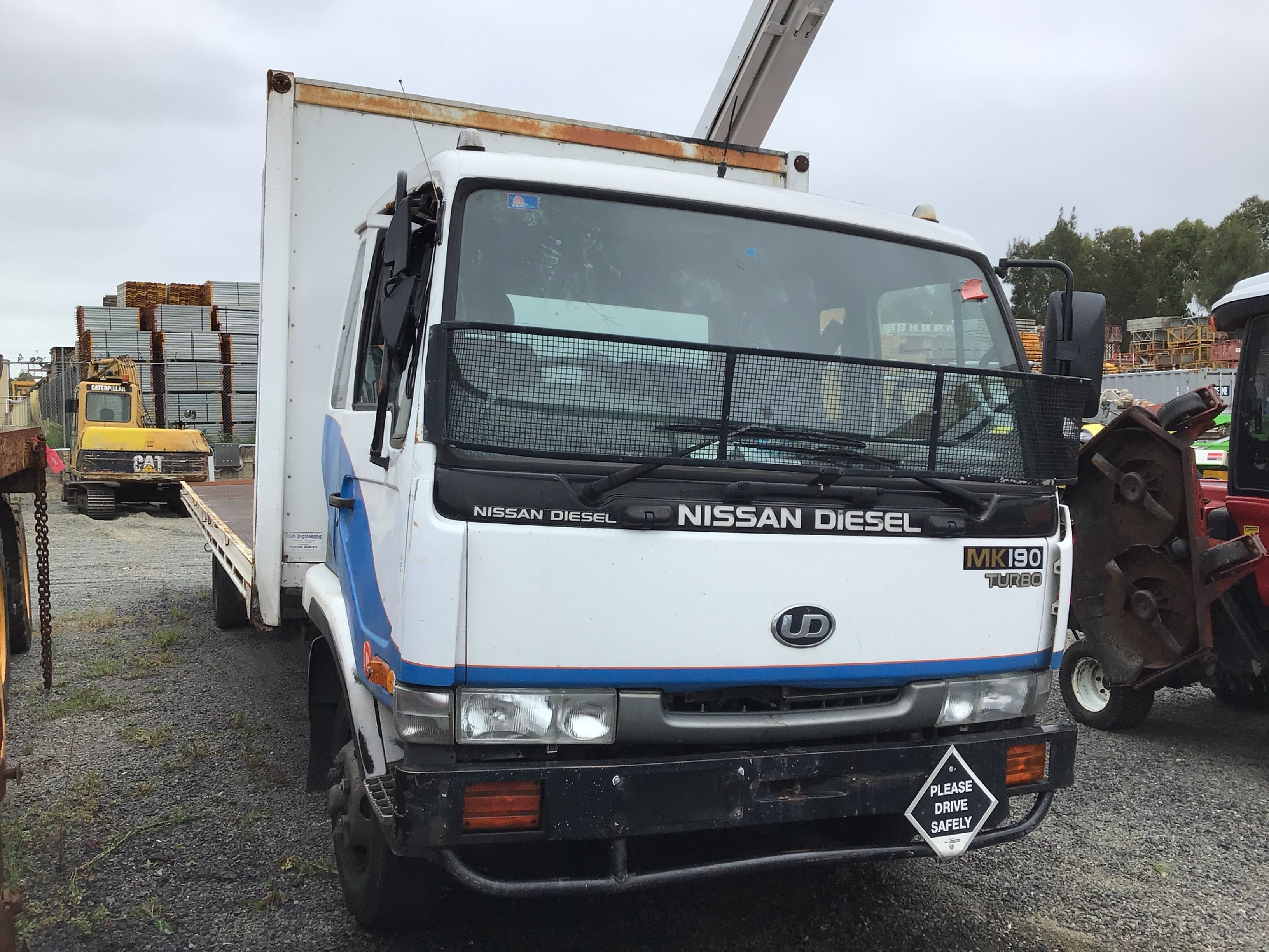 2002 UD MK190 4 x 2 Cab Chassis Truck