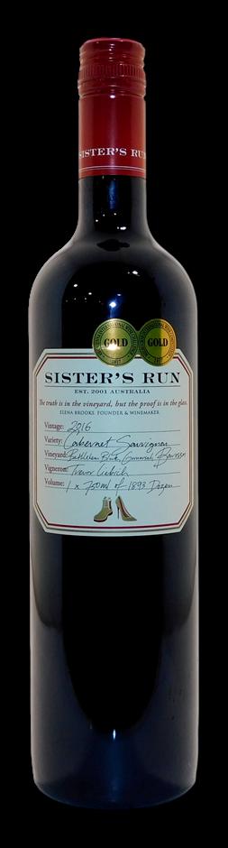 Sisters Run Cabernet Sauvignon 2016 (5x 750mL), Barossa