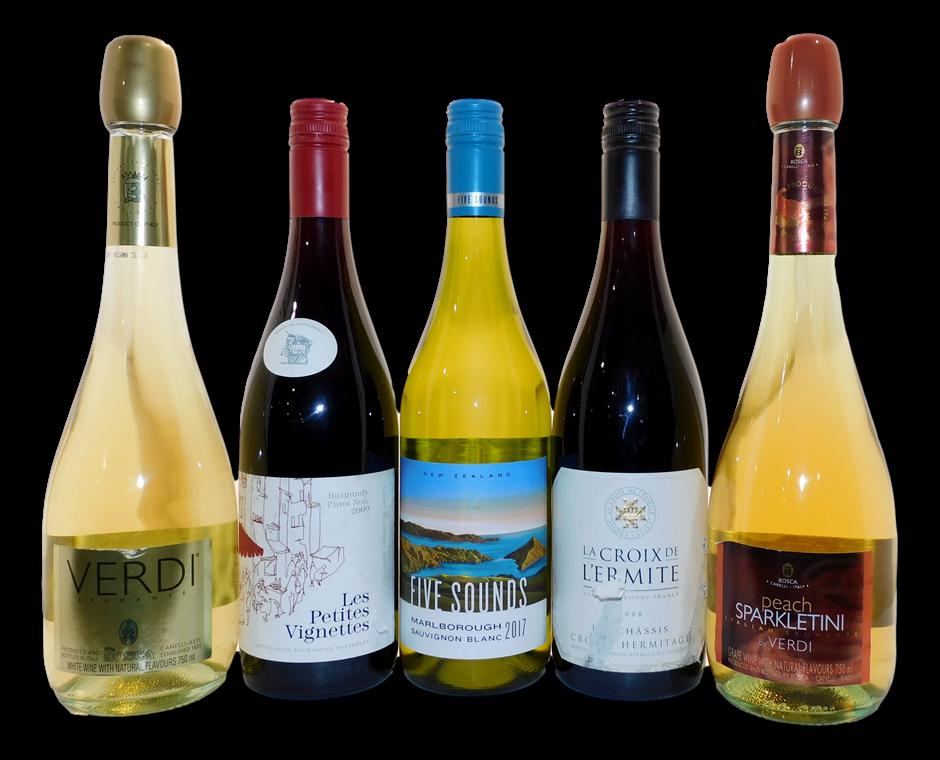 International Wine Mixed Pack (5x 750mL), ITA/FRA/NZ
