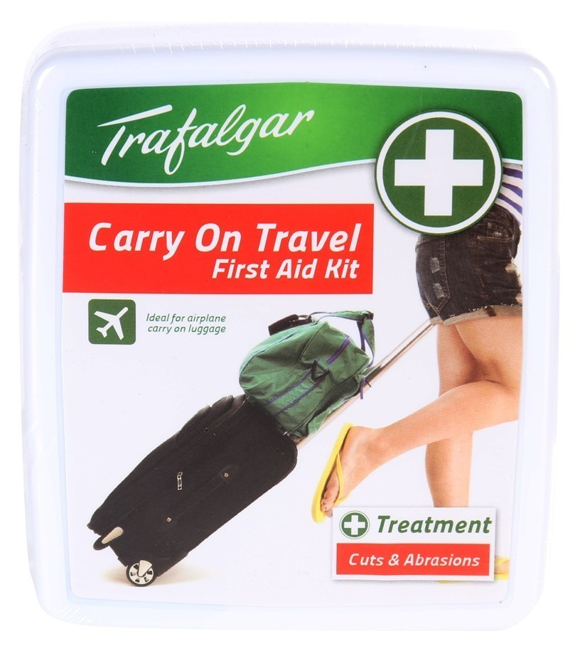 8 x TRAFALGAR Carry-On Travel First Aid Kits. Buyers Note - Discount Freigh