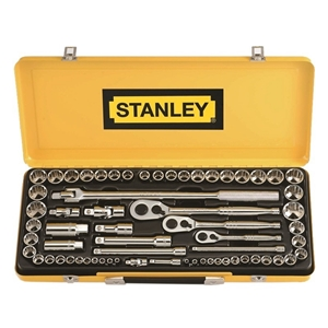 STANLEY 64 Piece 1/4`` 3/8`` 1/2 ` Drive