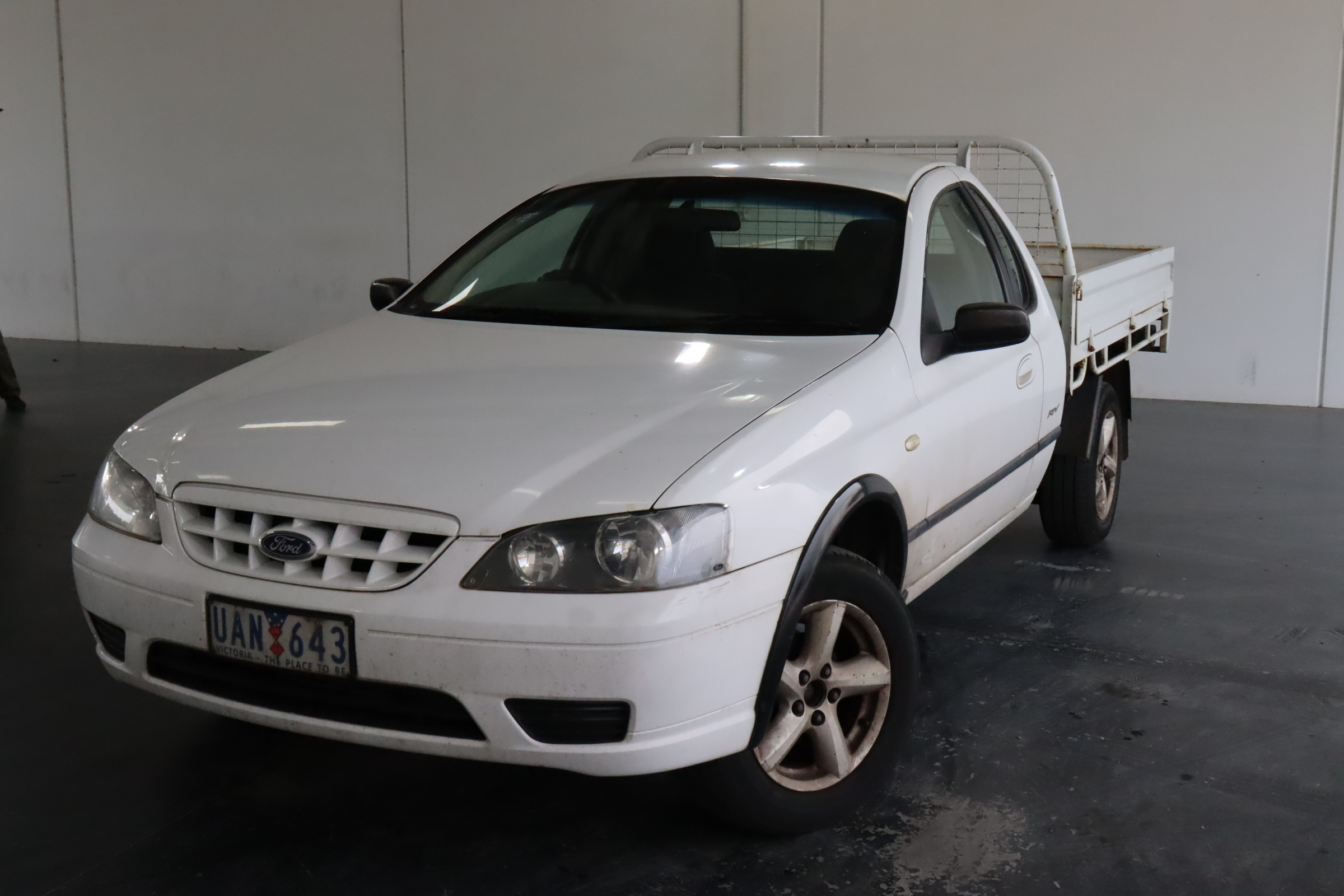 2005 Ford Falcon RTV (LPG) BF Automatic Cab Chassis