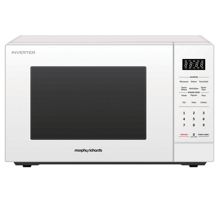 MORPHY RICHARDS 34L Microwave Oven 1200W, White. (SN:CC71672) (279323-61)