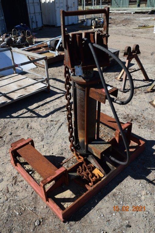 Heavy Duty Steel Framed Hydraulic Pole Puller