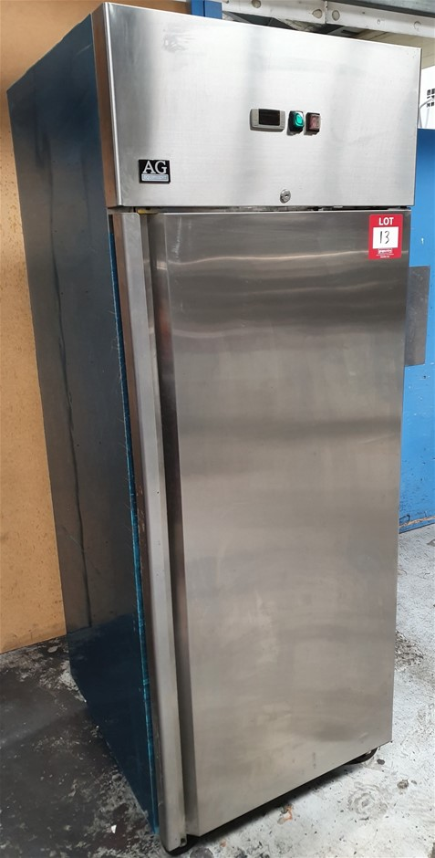AG Solid Door Storage Feezer - Stainless stee