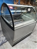 ISA Ice Cream Display Freezer - Untested