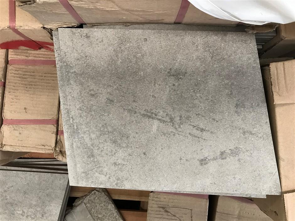 Crate of 594 x Porcelain First Grade Tiles 247 x 298mm (Light Grey Fleck)
