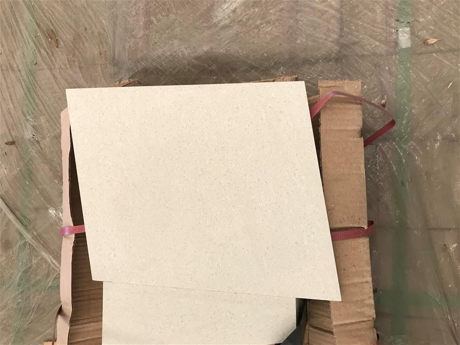 Crate of 594 x Porcelain First Grade Tiles 247 x 298mm (Light Grey)