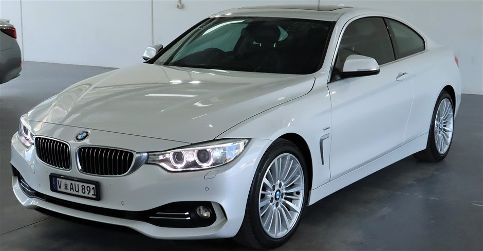 2014 BMW 4 SERIES 420i F32 Automatic - 8 Speed Coupe