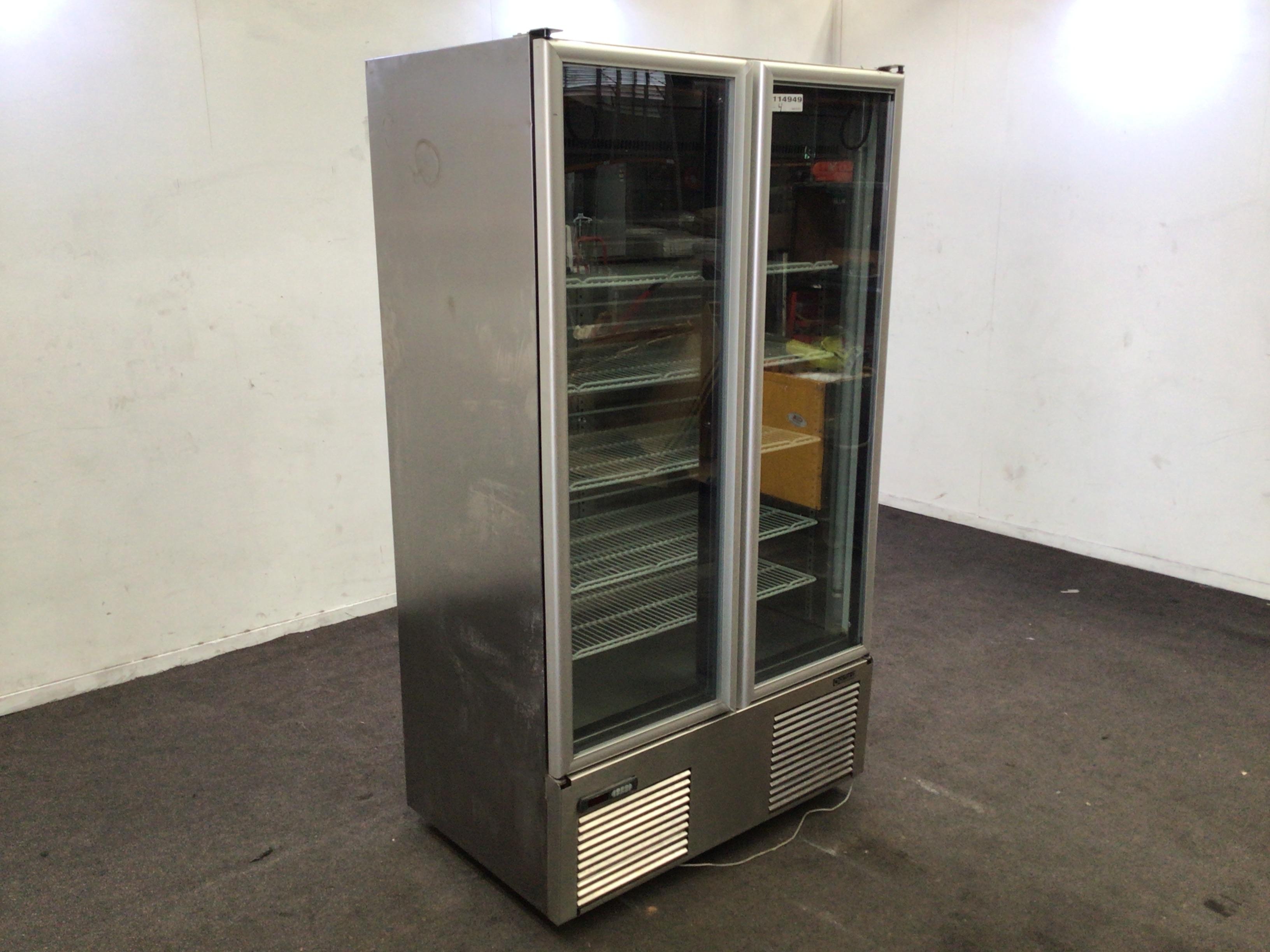 Orford SVDL30B Double Door Freezer