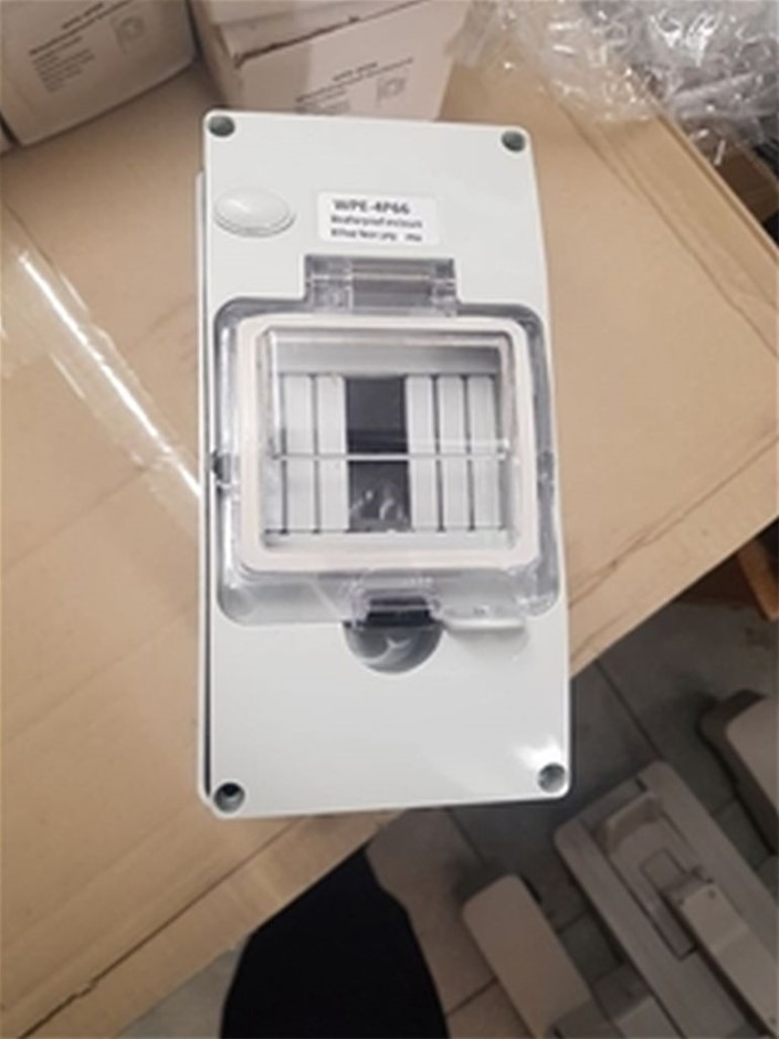 Lot of 2 Water Proof enclosure