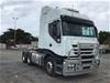 <p>2008 Iveco  Stralis  6 x 4 Prime Mover Truck</p>
