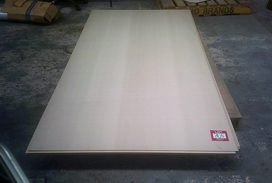 8 sheets of MDF. 2740mm x 1220mmx 3mm thick. Standard Grade