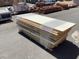 Pallet Containing Large Quantity of Doors Approximately 18 Doors