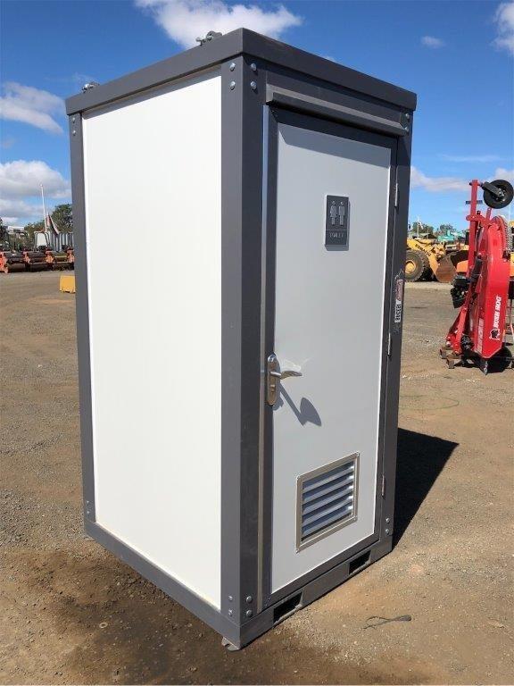 2021 Unused Single Cubicle Toilet Block