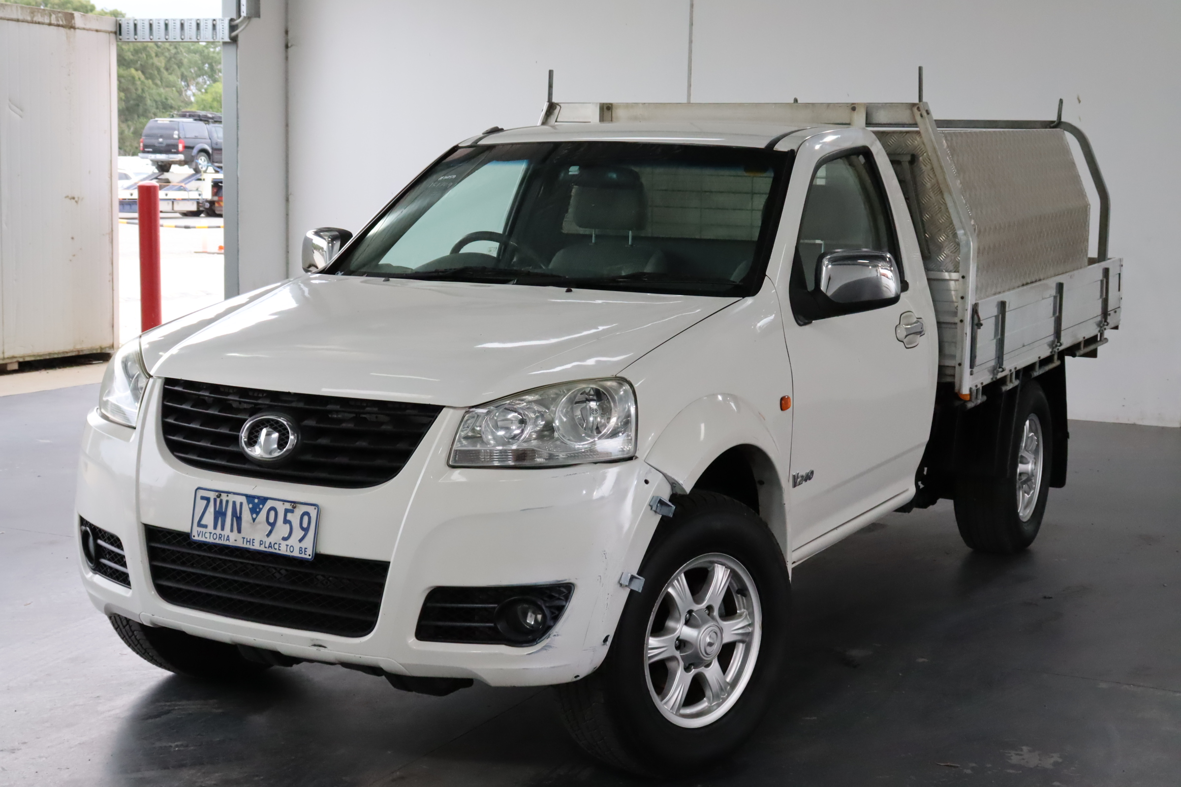 2013 Great Wall V240 4X2 Manual Cab Chassis
