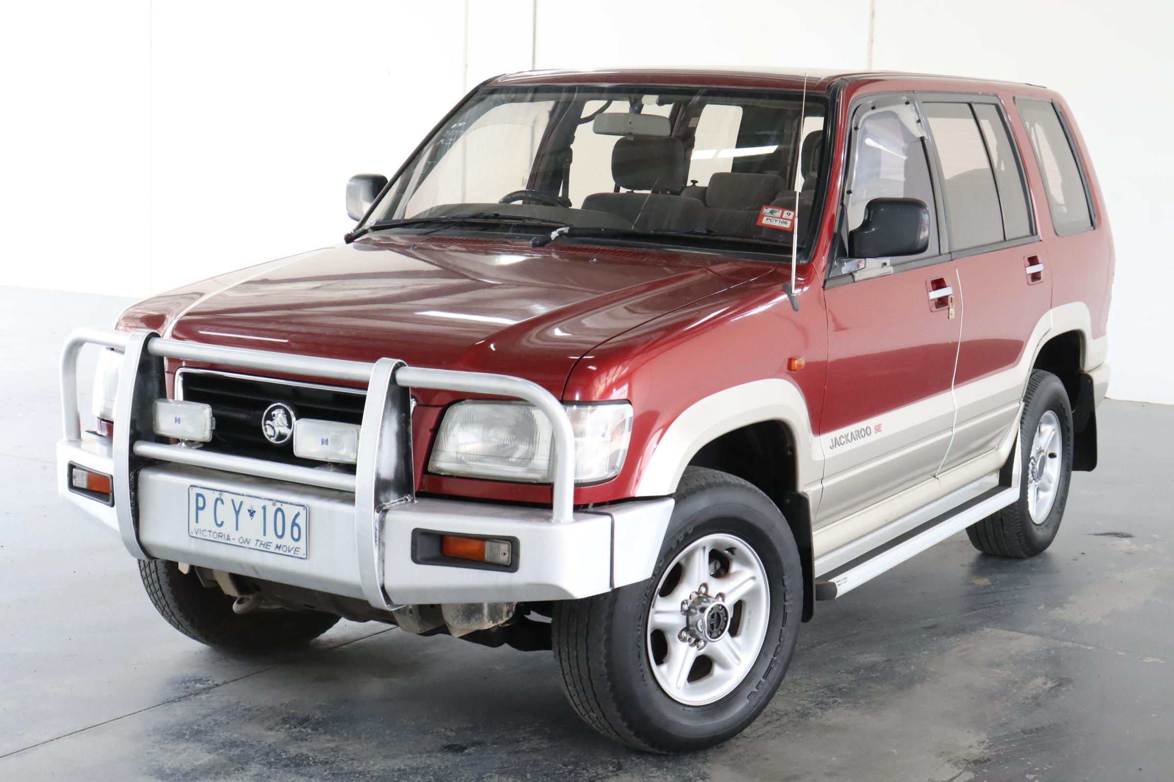 1998 Holden Jackaroo SE LWB (4x4) Automatic 7 Seats Wagon