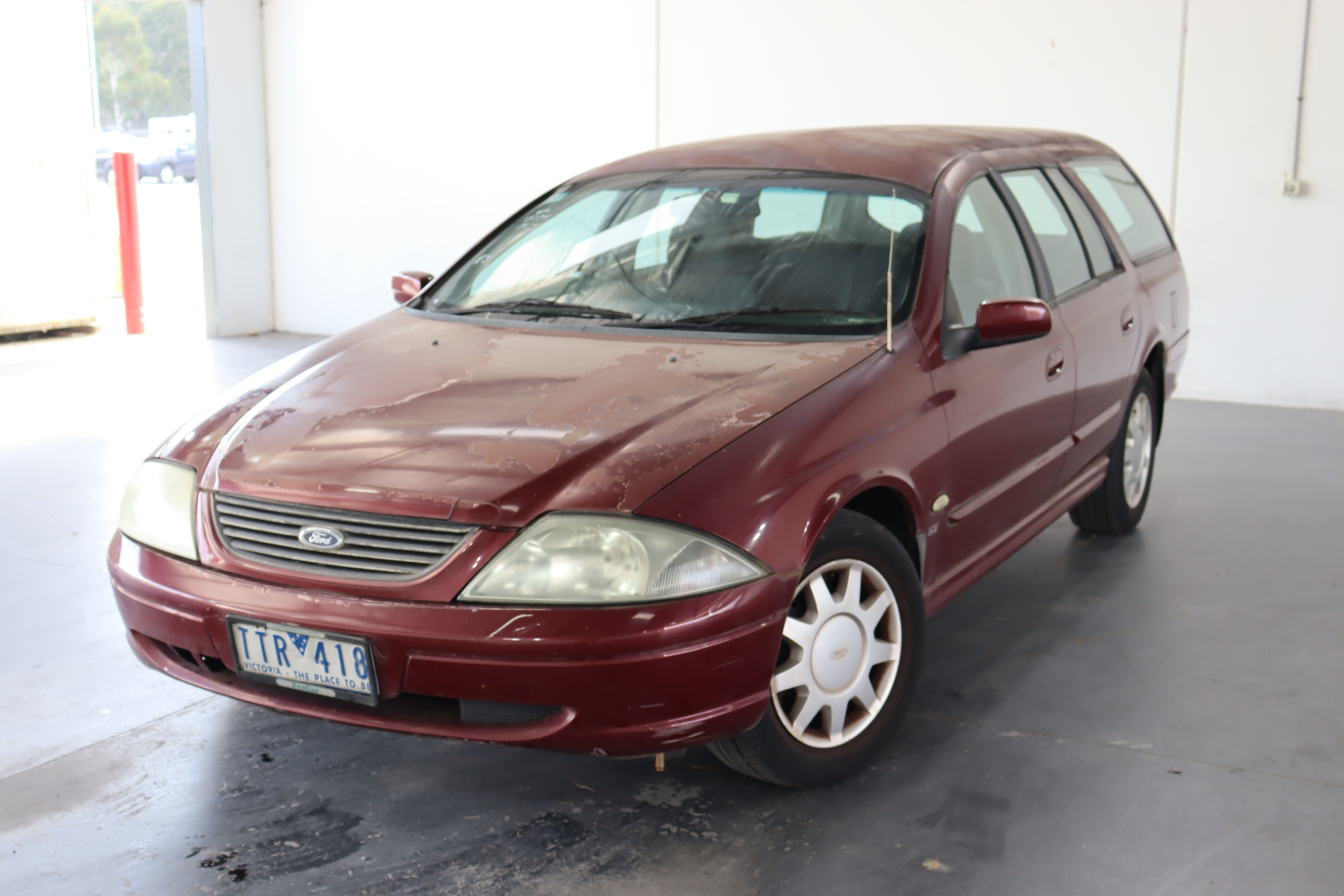2002 Ford Falcon Forte AUIII Automatic Wagon