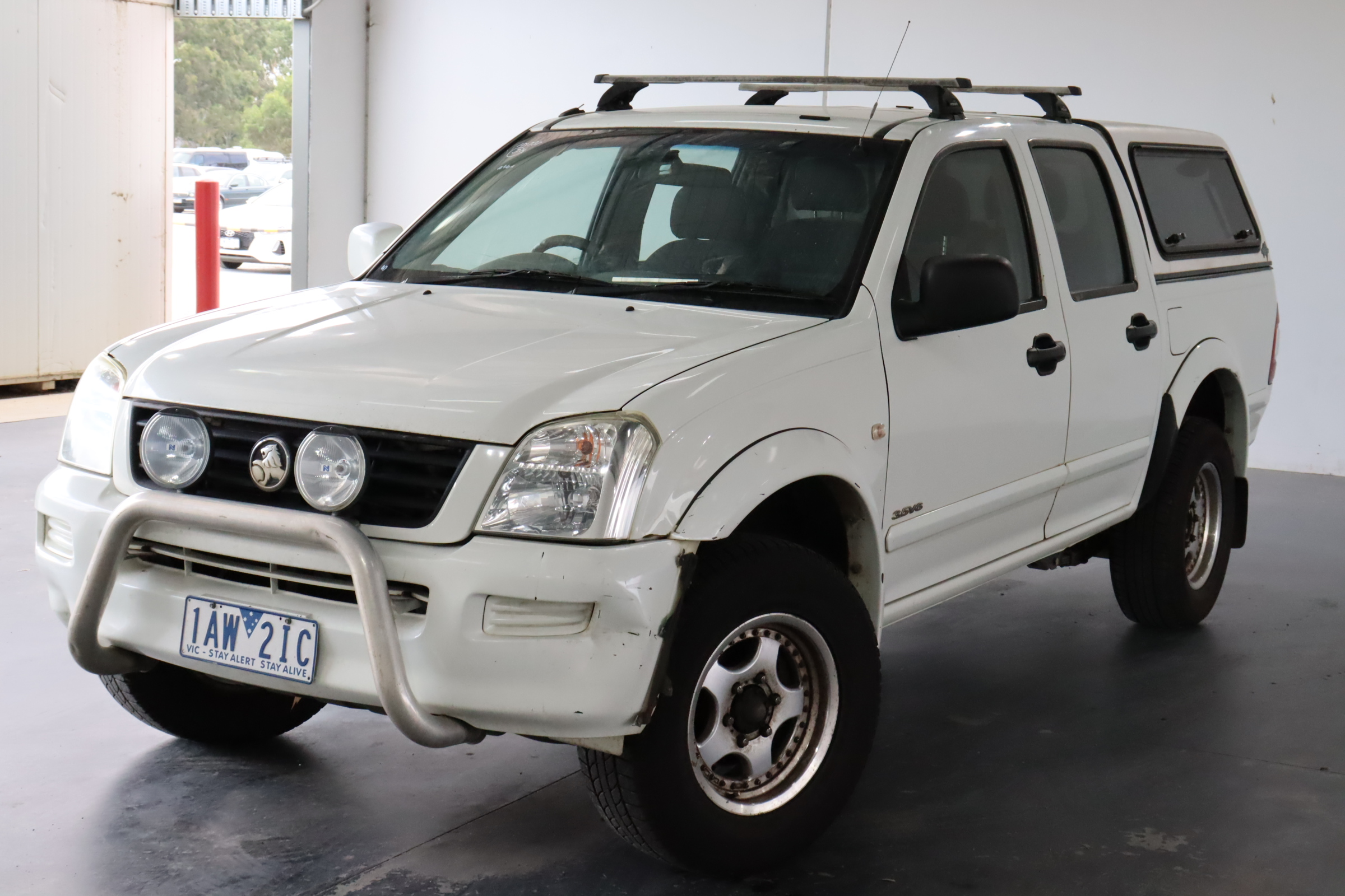 2004 Holden Rodeo LX RA Automatic Dual Cab (WOVR Inspected)