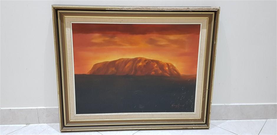 Ayers Rock Spectacular Sunset