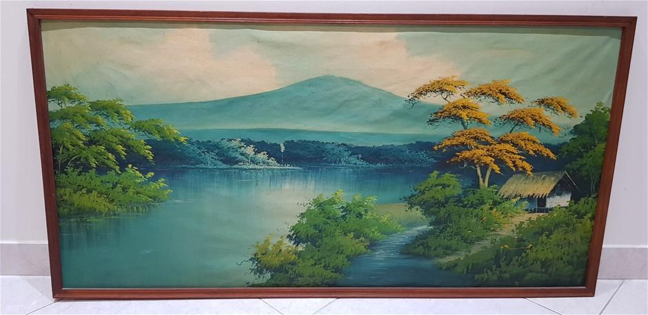 Asian Mountain Country