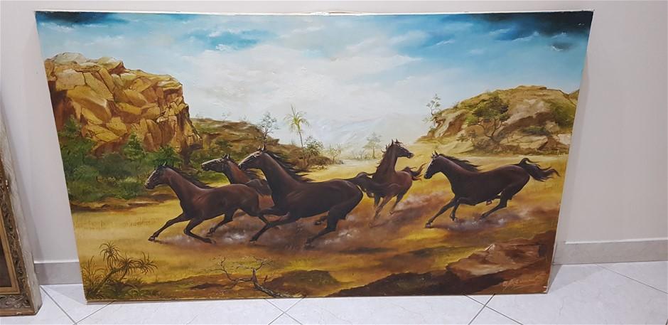 5 Wild Horses Stampede