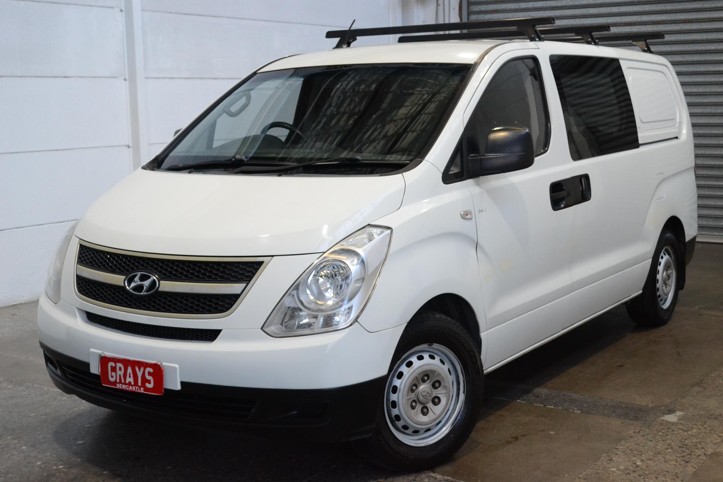 2010 Hyundai iLOAD TQ Turbo Diesel Automatic Van