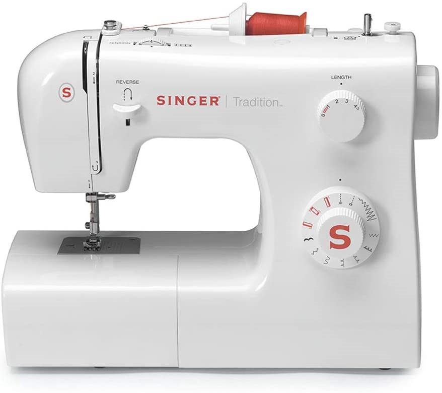 SINGER Sewing Machine 2250, Reverse operation, 38.1 x 15.7 x 30.5 cm. (SN:B