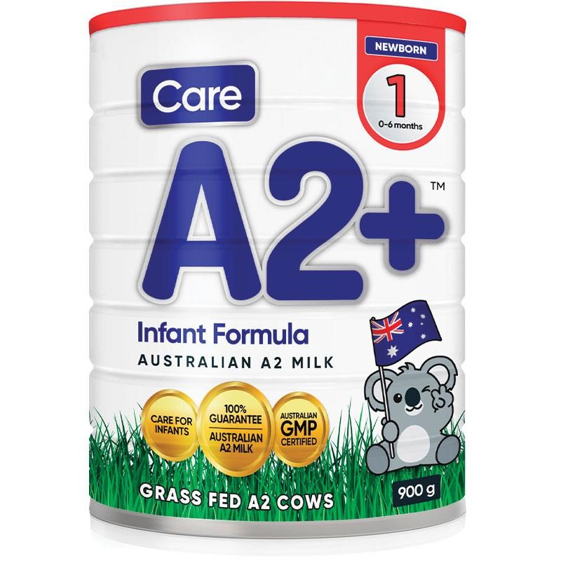 Care A2 + Stage 1 Baby Formula (1x 900g)
