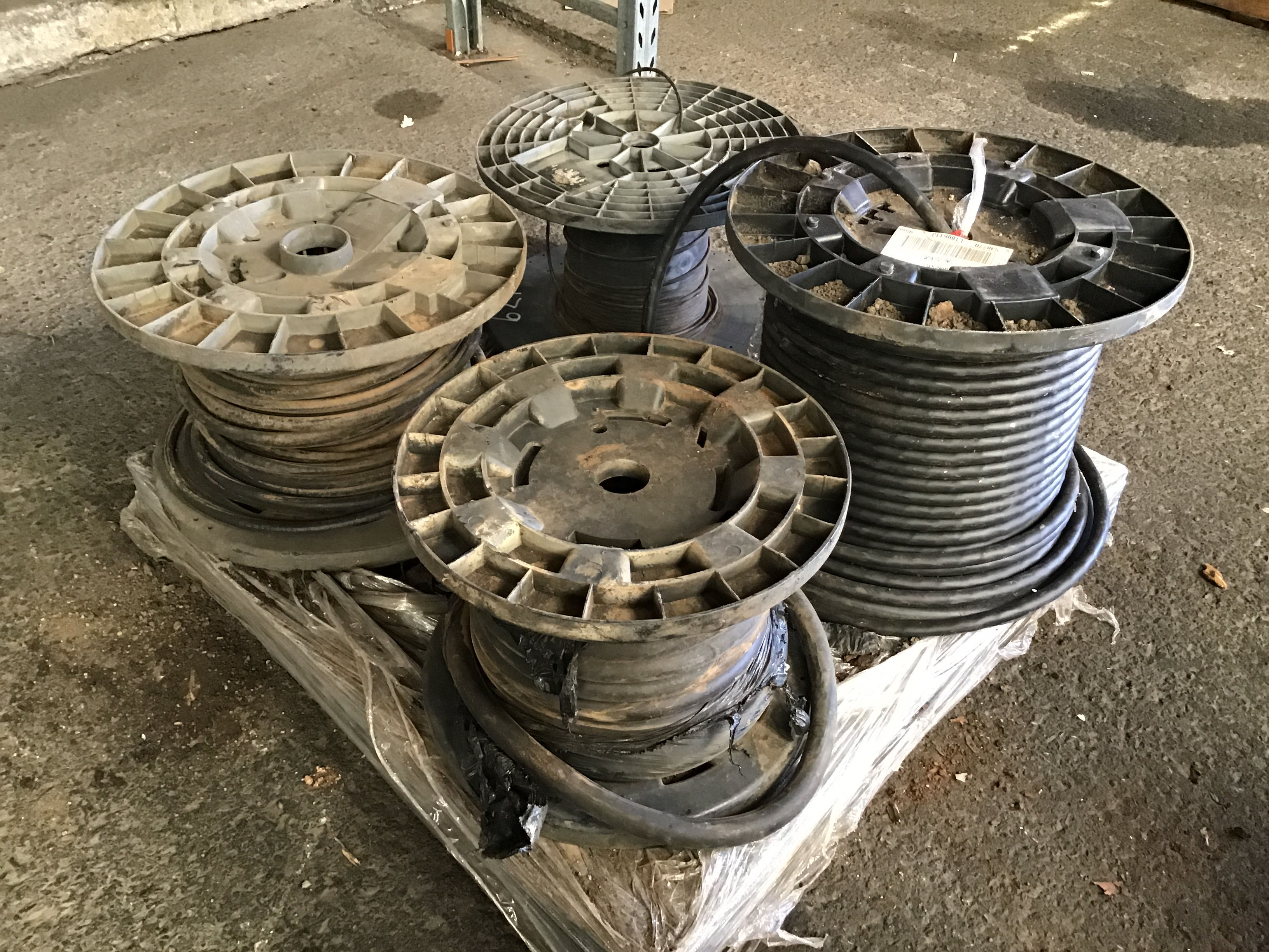 4x Part Reels of Electrical Cabling