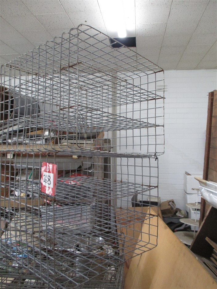 2 Wire Mesh Cages