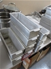 10 Aluminium Pate and Terrine Moulds