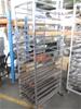 Steel Bakers Trolley - 16 Shelf