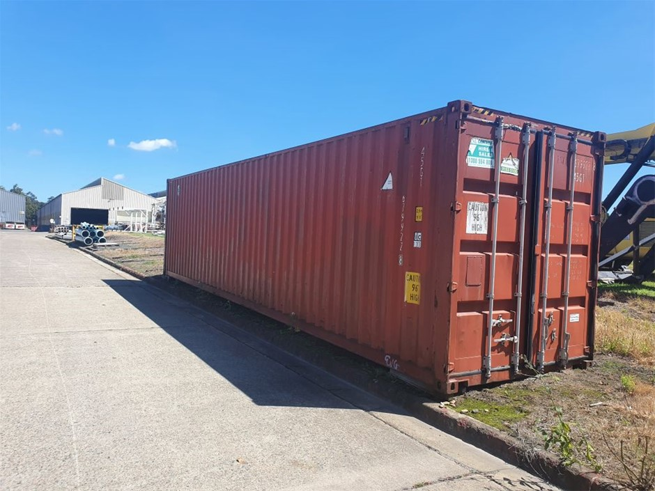 Shipping Container - 40ft GP High Cubic Closed Top
