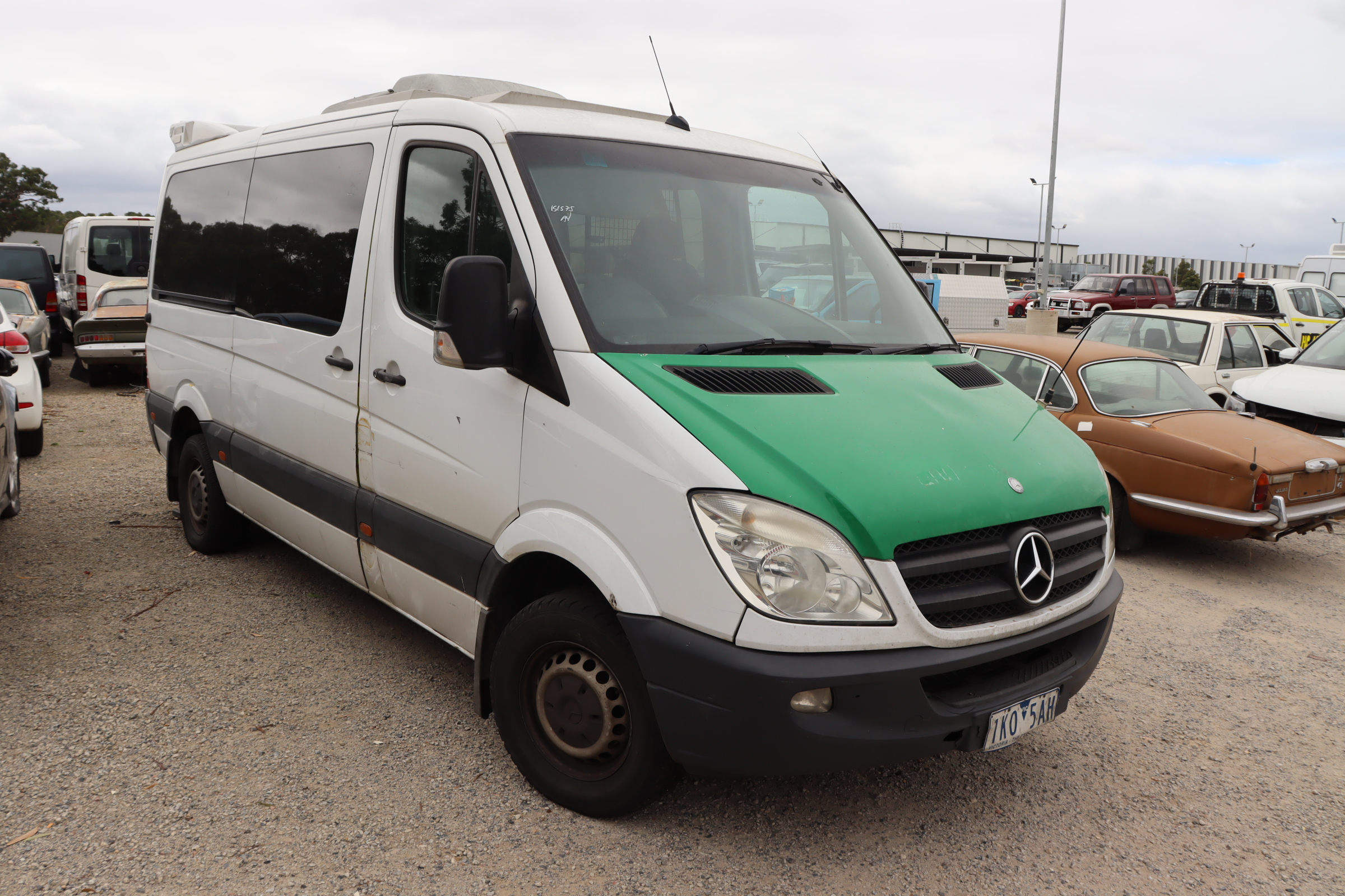 2011 Mercedes Benz Sprinter 316 CDI MWB L/ROOF Turbo Diesel Automatic Van