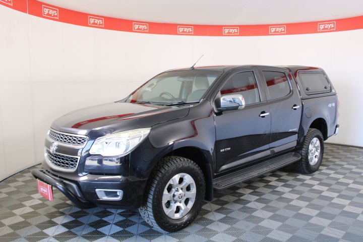2014 Holden Colorado 4X4 LTZ RG Turbo Diesel Automatic Dual Cab