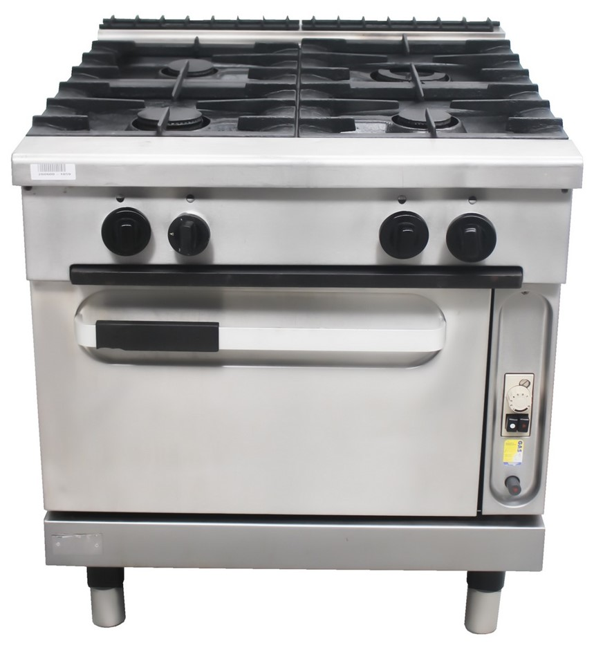ZANUSSI 900 SERIES GAS 4 BURNER STOVE WITH OVEN