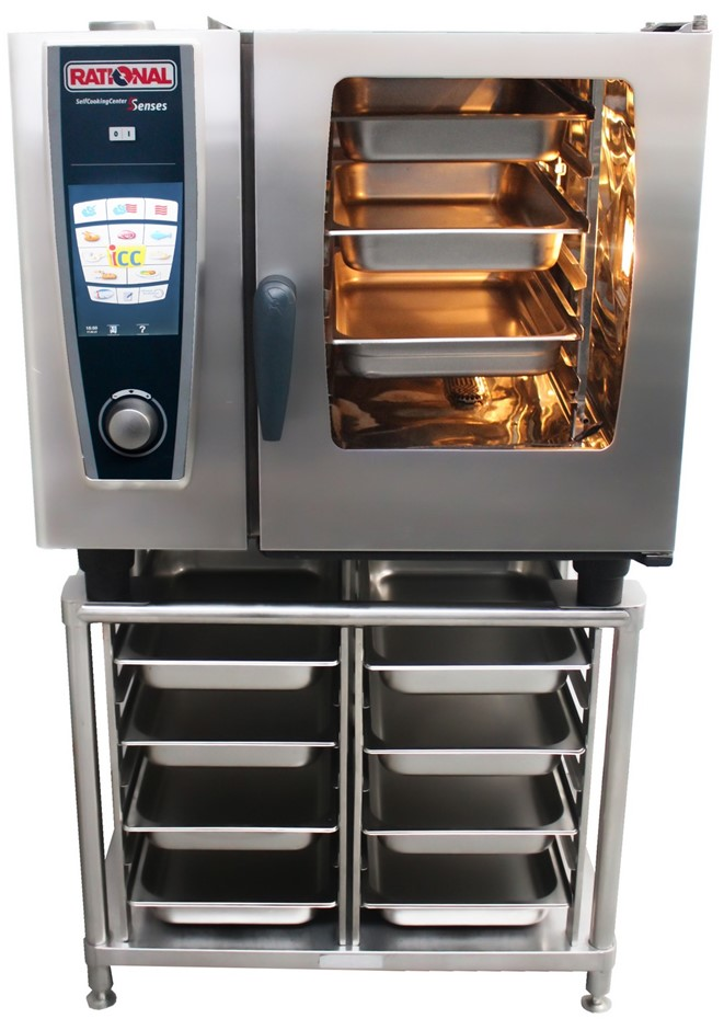 RATIONAL 5 SENSES SELF COOKING CENTRE 6 TRAY COMBI OVEN