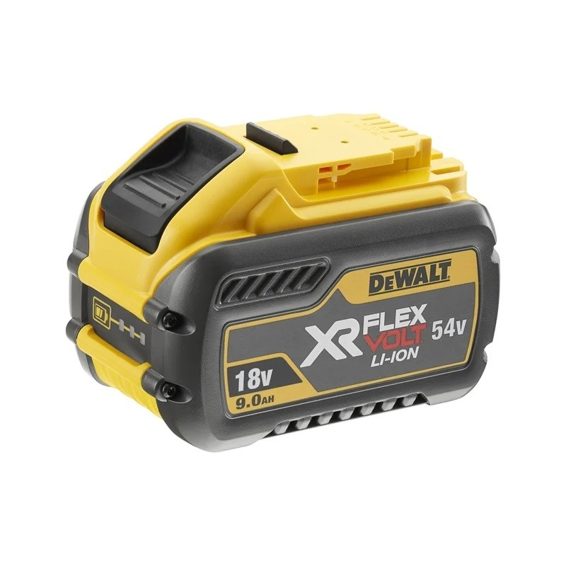 DEWALT 18/54V 9.0Ah XR Flexvolt Battery. N.B. Not Tested. Condition Unknown